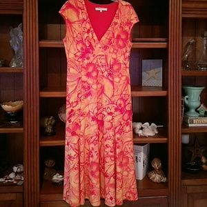 Evan Picone Floral Hot Sundress